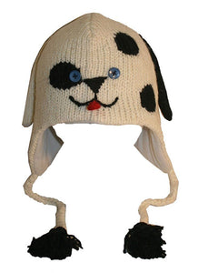 Agan Traders Wool Animal Knit Fleece Lined Flap trapper Hat Child Kids Size - Agan Traders, Crazy Dog
