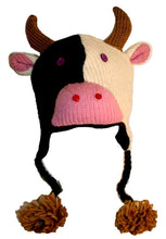 2-Ply Wool Adult Animal Hat - Agan Traders, Cow