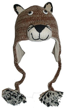 2-Ply Wool Adult Animal Hat - Agan Traders, Mountain Lion
