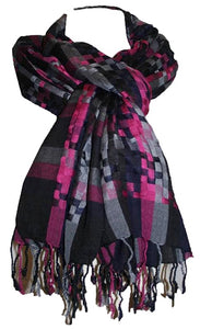 SH Stylish Trendy Cotton Shawl Wrap Scarf India - Agan Traders