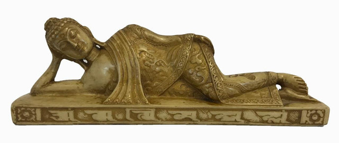 Agan Traders Nepal Resin Sleeping Reclining Buddha Nirvana Sleeping Buddha Statue ~ Art Statue ~ Home Office Decor ~ Gift Souvenir. - Agan Traders, BD-bg-2