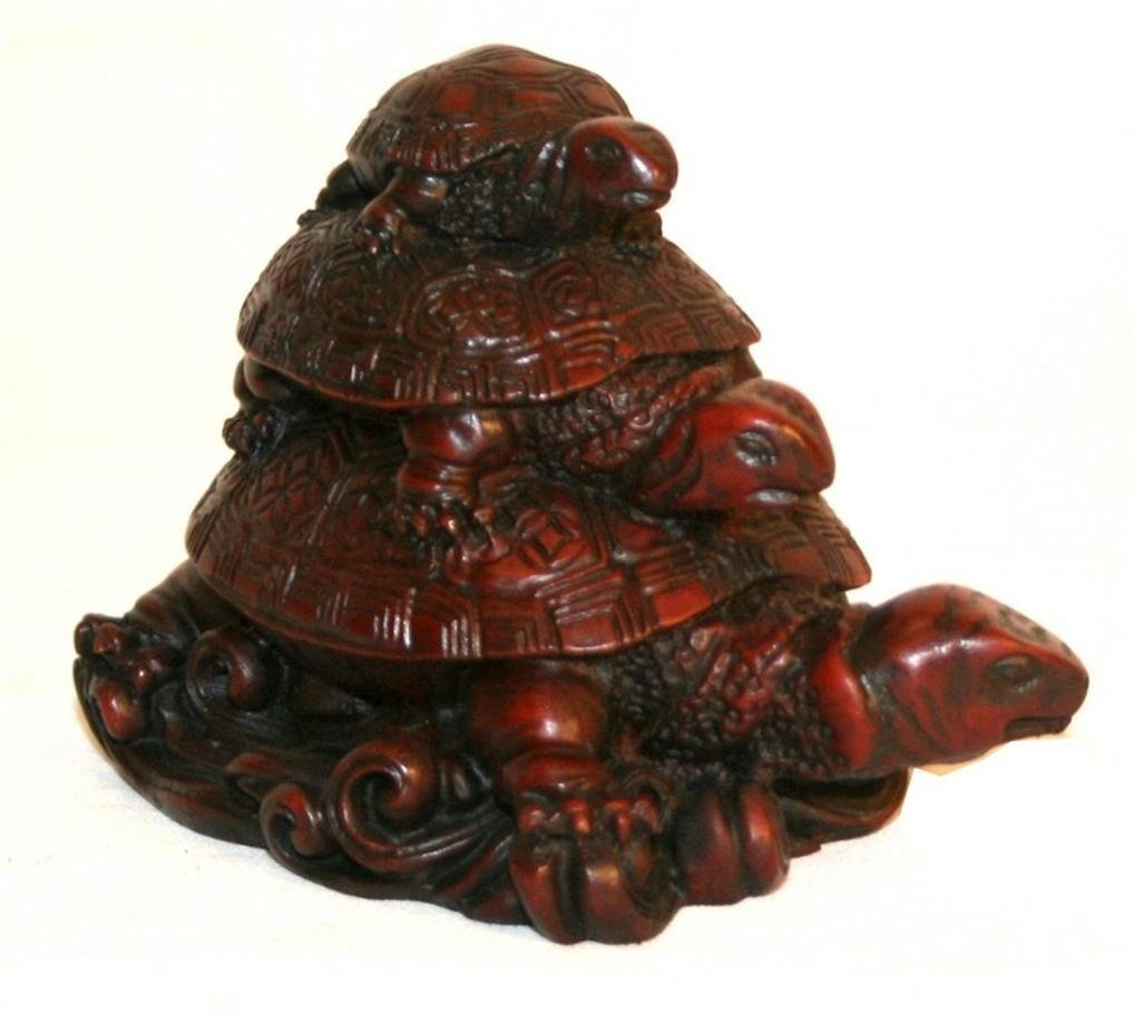 Resin Turtle Family - Agan Traders