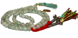 7mm Agate Tibetan Buddhist Prayer Meditation Malas From Himalaya of Nepal - Agan Traders