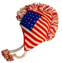 Mohawk Wool Funky Beanie Flag Hats - Agan Traders, USA 945