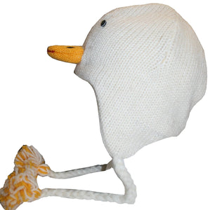2-Ply Wool Adult Animal Hat - Agan Traders, Duck