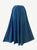 712 SK Agan Traders Medieval Embroidered Long Skirt - Agan Traders, Blue