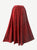 712 SK Agan Traders Medieval Embroidered Long Skirt - Agan Traders, B Red