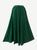 712 SK Agan Traders Medieval Embroidered Long Skirt - Agan Traders, H Green