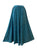 712 SK Medieval Embroidered Elastic Waistband Long Skirt