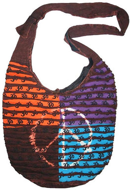 SJ 02 Agan Traders Om Peace Bohemian Shoulder Bag Purse - Agan Traders, Style 7