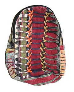 Agan Traders Bohemian Cotton Patchwork Gypsy Rucksack Backpack - Agan Traders, Style 12