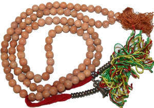 Agan Traders Original Tibetan Buddhist 108 Beads Prayer Meditation Mala - Agan Traders, Onyx 7mm