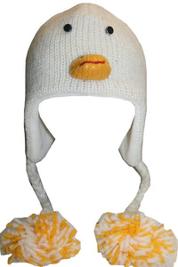 2-Ply Wool Adult Animal Hat - Agan Traders