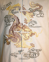 Oriental Mandarin Coat Kung Fu Tai Chi Light Coat Jacket - Agan Traders, Off White