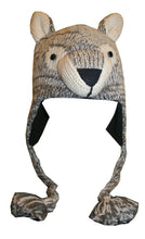 2-Ply Wool Adult Animal Hat - Agan Traders, Wolf