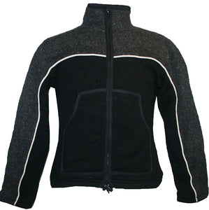 Sherpa Knit Fleece Lined Jacket - Agan Traders