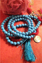 Agan Traders Original Tibetan Buddhist 108 Beads Prayer Meditation Mala - Agan Traders, Firoza