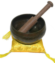 4000 Series Tibetan Auspicious Symbol Etching Singing Bowl - Agan Traders