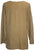 Diamond Neck Renaissance Embroidered Blouse - Agan Traders, Camel