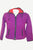 813 WJ Wool Fleece Hoodie Jacket Sweater Petite Size ~ Purple
