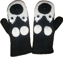 Animal Glove Wool Fleece Lined Warm Soft Adult Teenagers Outdoor Activities Ski Mitten - Agan Traders, Siberian Husky