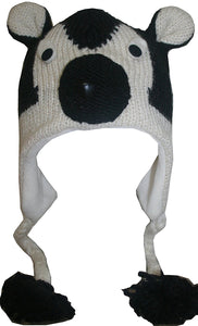 2-Ply Wool Adult Animal Hat - Agan Traders, Panda
