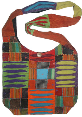 Vintage Patchwork Bohemian Shoulder Bag - Agan Traders, Multi 1