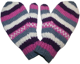 Ski Winter Lined Wool Mitten - Agan Traders