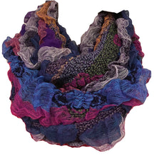Scf 071 Fashion Vibrant Colorful Infinity Scarf - Agan Traders