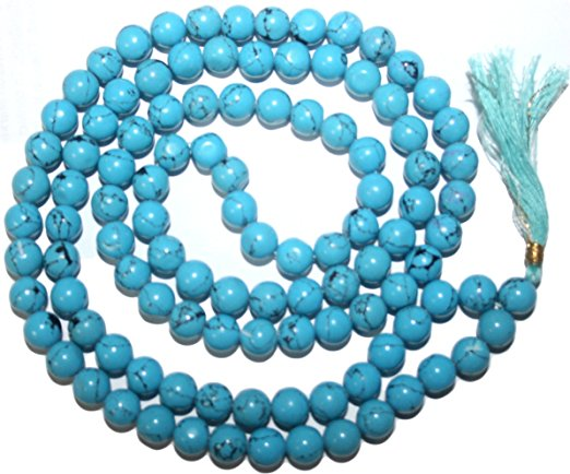 Assorted Original Tibetan Buddhist 108 Beads Prayer Meditation Mala - Agan Traders