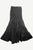 15 WS Women's Rayon Boho Chic Broom Mopping Ruffle Tier Wrap Skirt Maxi - Agan Traders; Black