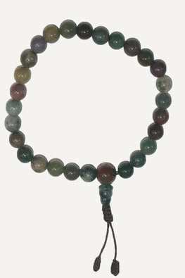 8mm Original Tibetan Buddhist Beads Prayer Meditation Bracelet - Agan Traders, Agate