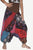 TLP 77 Misses Junior Bohemian Afghani Harem Dancing Patched Block Printed Trouser
