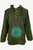 544 MS Men's Stonewashed Cotton Hoodie Sweatshirt Pullover Jacket - Agan Traders, Green