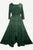 186022 DR Vintage Medieval Crepe High-Low Tier Lace Square Neckline Dress Gown