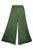 204 P Rayon Viscose Palazzo Belly Bottom Elastic Waistband Pant Trouser - Agan Traders, Green