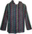 503 JKT Sherpa Heavy Duty Striped Fleece Lined Hoodie Jacket - Agan Traders, Green Multi
