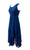 Empire Wedding Party Summer Mid Length Calf Dress - Agan Traders, Navy Blue