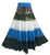 61 SKT Soft Cotton Convertible Lined Tie Dye Gypsy Skirt Dress ~ Olive Blue