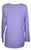 Diamond Neck Renaissance Embroidered Blouse - Agan Traders, Lavender