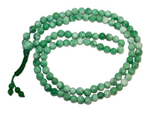 Agan Traders Original Tibetan Buddhist 108 Beads Prayer Meditation Mala - Agan Traders, Green Jade