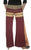 LP 496 Bohemian Cotton Belly Button Harem Afghani Pant Trouser - Agan Traders, Burgundy