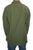 543 MS Men's 3 button Henley Tunic Shirt - Agan Traders, Army Green