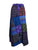WS 411 Women's Hippie Long Wrap Patch Cotton Boho Renaissance Skirt Maxi - Agan Traders, Purple