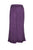 204 P Rayon Viscose Palazzo Belly Bottom Elastic Waistband Pant Trouser - Agan Traders, Purple