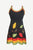 R 11 Gypsy Tribal Boho Knit Cotton Razor Cut Strap Maxi Dress - Agan Traders, multicolor