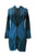 RJ 310L Bohemian Patched Embroidered Funky Boho Long Hoodie Jacket - Agan Traders, Blue
