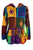 339 RJ Bohemian Knit Cotton Razor Cut Pixie Hoodie Sweatshirts Rib Jacket - Agan Traders, Multicolored