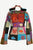 Nepal Rib Cotton Patch Bohemian Fleece Jacket - Agan Traders, Multicolor