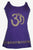 R 128 Agan Traders Knit Cotton Yoga Meditation Summer Tank Top Nepal - Agan Traders, Purple